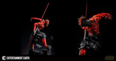 Get Your Revenge with the Star Wars Darth Maul Ukiyo-E Artfx Light-Up Statue!