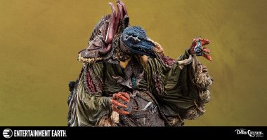 SkekTek the Scientist from the Dark Crystal Is a Sight for Sore Eyes!