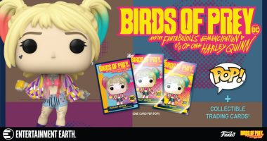 Birds of Prey Funko Pop! Exclusive Collector Cards Are a Must Have