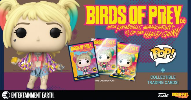 Funko Collector Cards From Birds Of Prey Are Now Available For Order