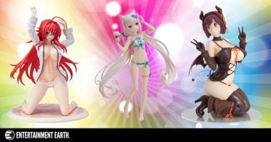 Anime, manga, video games statues